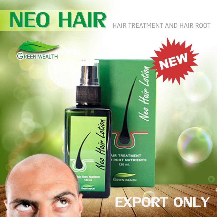 Neo Hair Lotion spray lotion Hair transplant and Hair roots